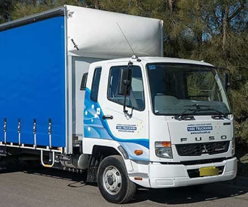 6 Tonne Tautliner With Truck Away Tail Lift