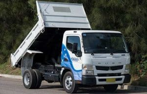 Fuso Canter tipper truck